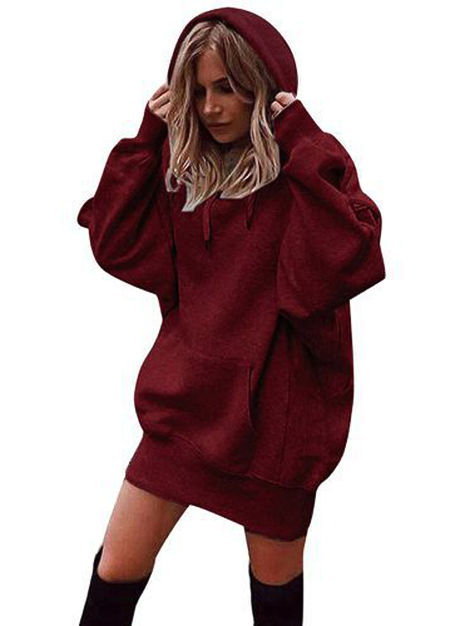 Photno Womens Pullover Hoodies Hoodie Sweatshirts Loose Graphic Tops T Shirts Blouse Outwear 2018