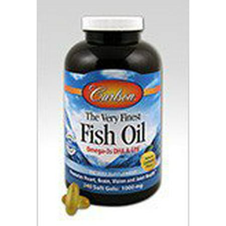 Very finest fish oil lemon flavor carlson laboratories 120 for Lemon fish oil