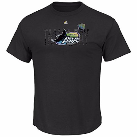 Tampabayrays Com (MLB Men's Last Rally Cooperstown T-shirt (M, Tampa Bay Devil)
