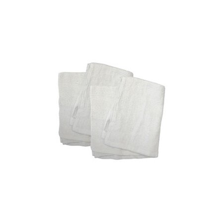 TIGER ACCESSORIES 35278 COTTON TERRY TOWELS  WHITE - Tigger Accessories