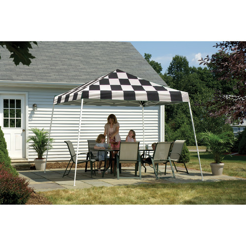 12' x 12' Sport Pop-up Canopy Slant Leg Desert Bronze Cover