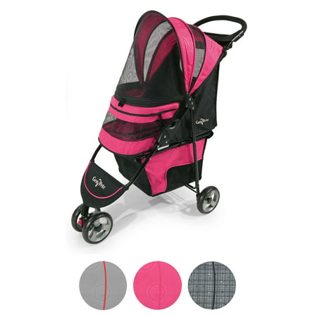 Gen7Pets Regal Pet Stroller, Raspberry Sorbet