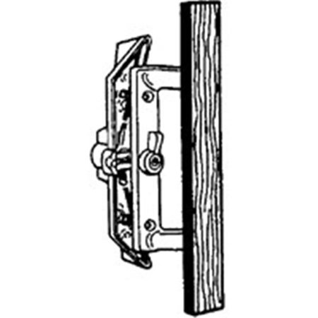 WRIGHT PRODUCTS V1104 Patio Door Latch, Aluminum ()