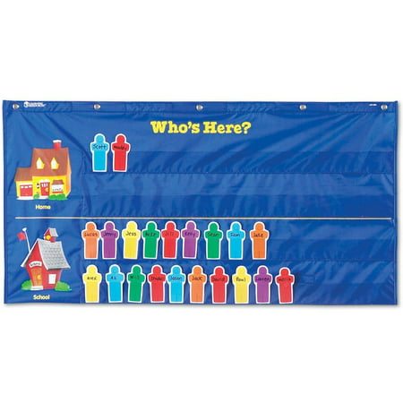 - Learning Resources Attendance Pocket Chart