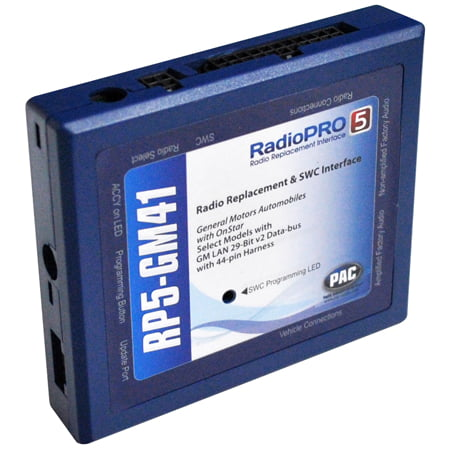 Pac Rp5 Gm41 Radio Replacement Interface With Onstar Telematics Retention