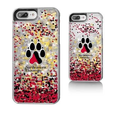 northeastern huskies gold glitter iphone 7 case. Black Bedroom Furniture Sets. Home Design Ideas