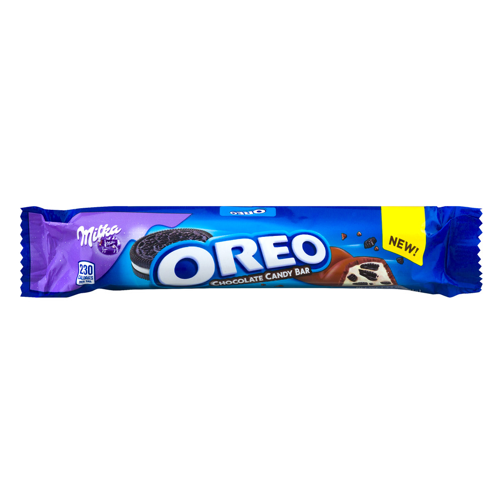 Milka oreo chocolate candy bar, 1.44 oz