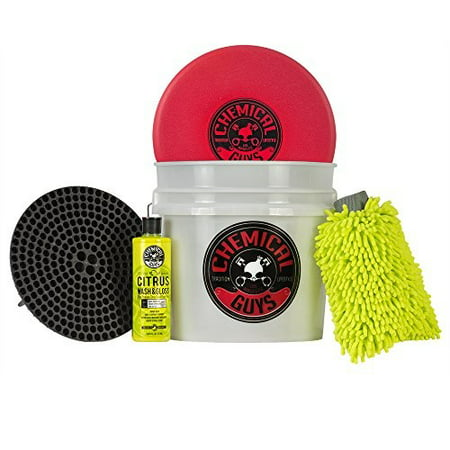 chemical guys hol133 best detailing bucket kit (5 items), 16.