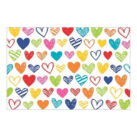 Valentines Party Decor (Fun Express - Valentine Backdrop for Valentine's Day - Party Decor - Wall Decor - Preprinted Backdrops - Valentine's Day - 3)