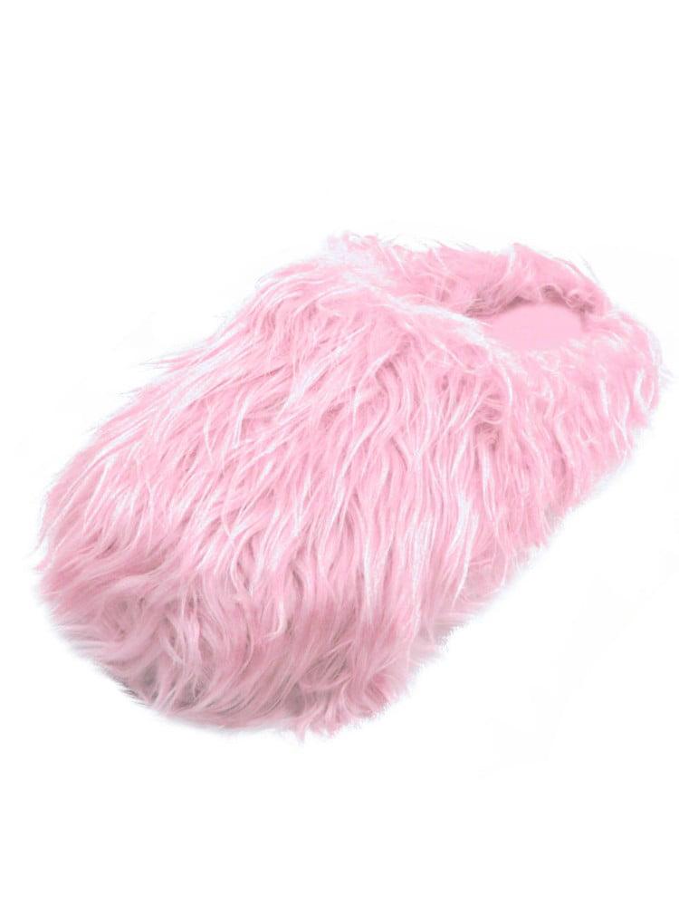Fuzzy Fur Covered Yellow Slip