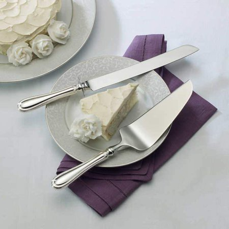Wallace Giorgio 2-piece Sterling Silver Cake Knife & Pie Server (Sterling Silver Pastry Server)