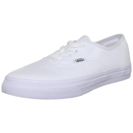 f33ef722f8a Vans Kids unisex Authentic Core (Toddler) True White Sneaker 4.5 Toddler M