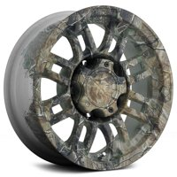 "Vision 375 Warrior 18x8.5 5x5"" +25mm Camo Wheel Rim 18"" Inch"