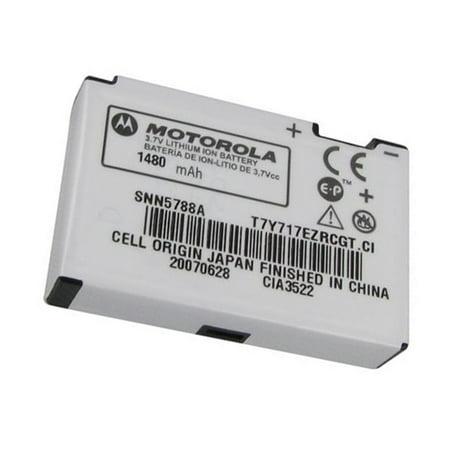 Original Motorola SNN5788A 1480mAh Extended Battery for Motorola RAZR V3 V3c V3e V3i V3m V3r V3t PEBL U6 in Non-Retail Packaging