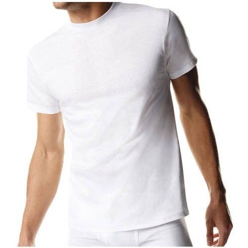 Hanes Big and Tall Men's 3 Pack Crew