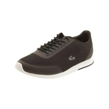 0606dc96c Lacoste - Lacoste Womens Helaine Runner 116 Sneakers in Black - Walmart.com