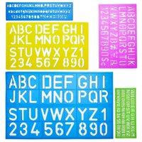 a51155cd8 Product Image Mr. Pen- Alphabet Templates, Alphabet Stencils, Pack of 5,  Letter Stencils