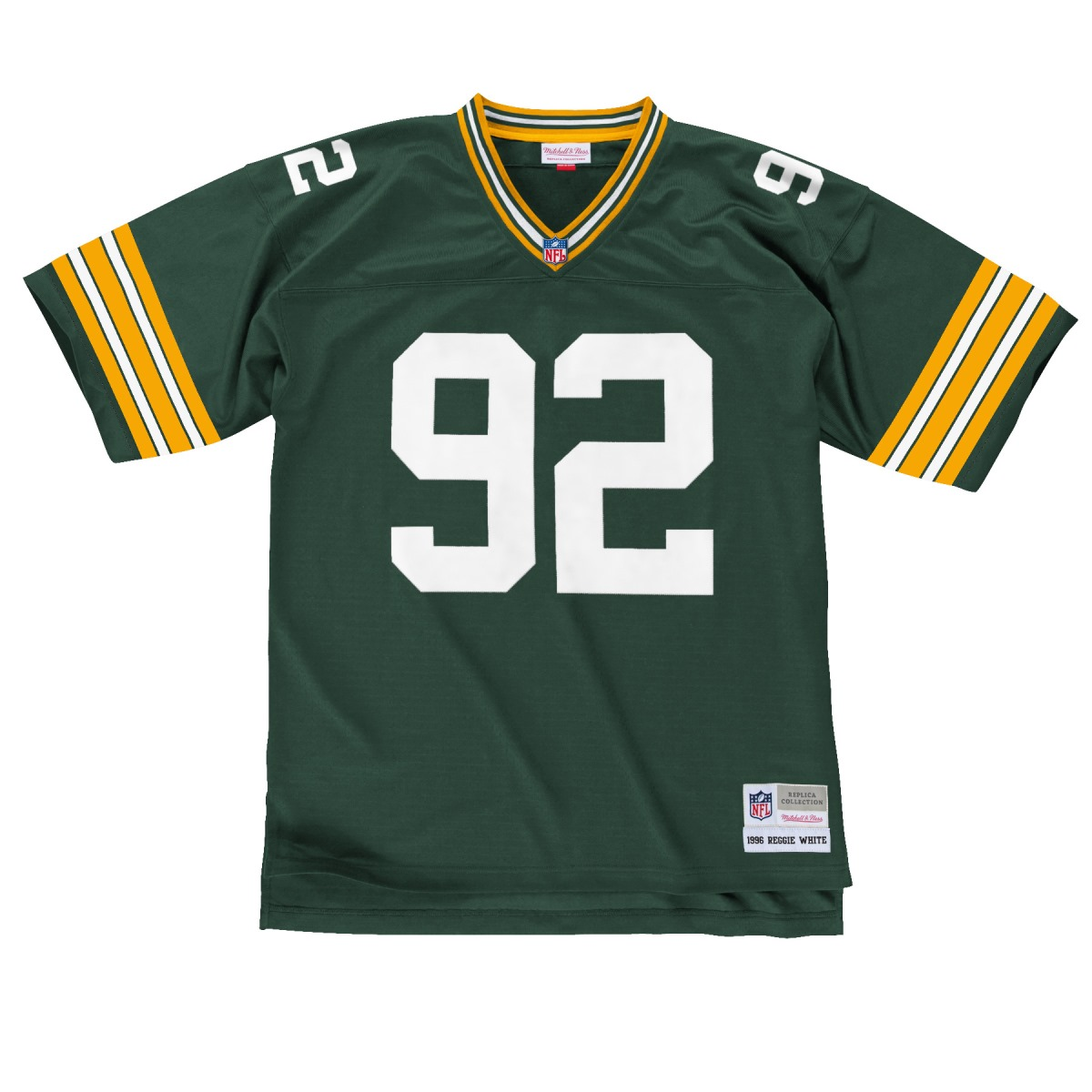 Reggie White Green Bay Packers NFL Mitchell & Ness Throwback Jersey - Green