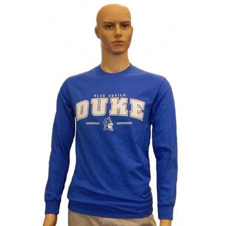Duke Blue Devils Long Sleeve T-Shirt 100% Cotton Duke Blue Devils T-shirt