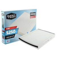 SuperTech Cabin Air Filter 5250, Replacement Air/Dust Filter for Ford