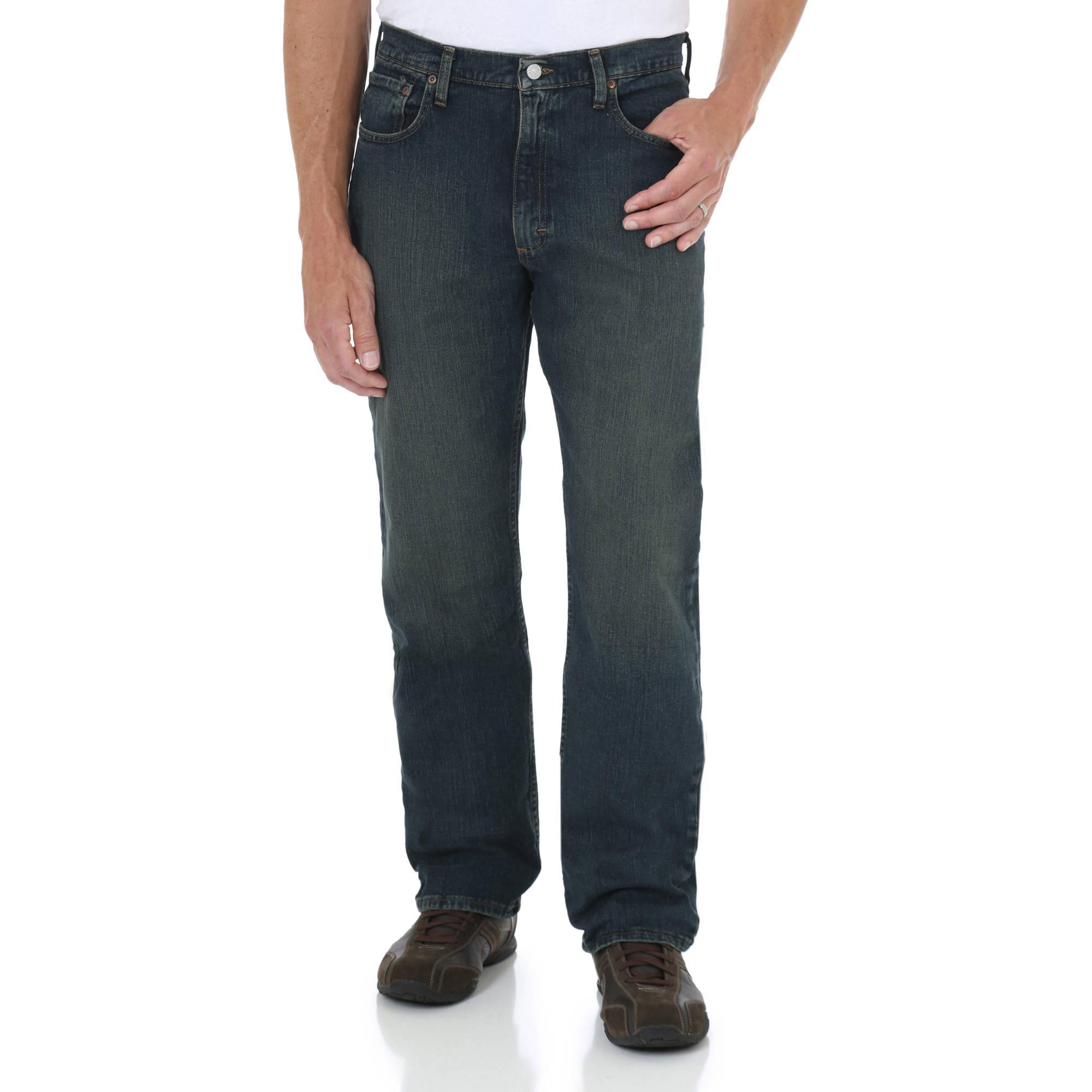 Wrangler Big Men's Advanced Comfort Relaxed Fit Jean