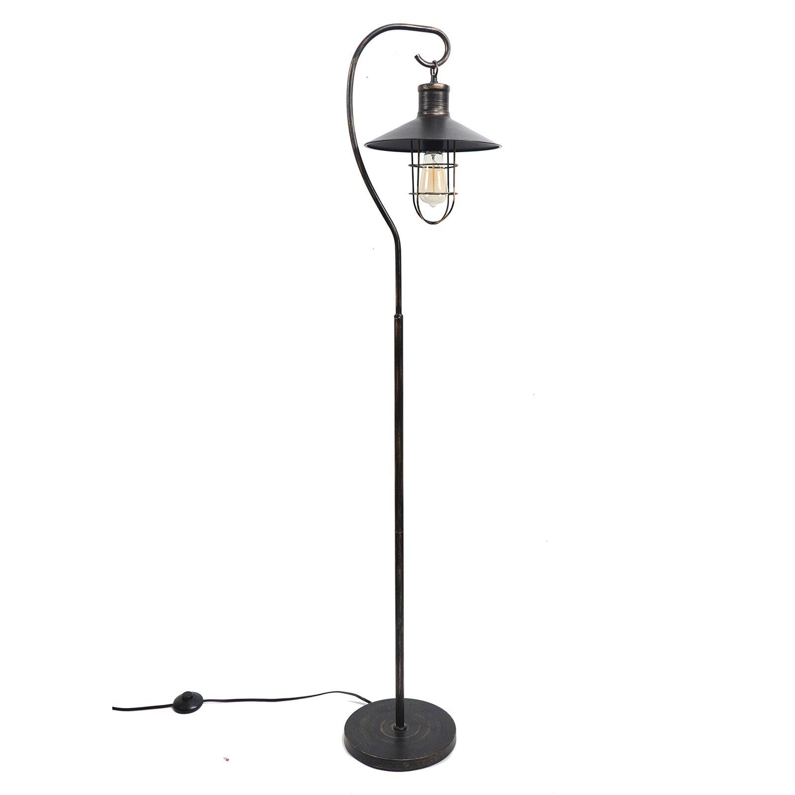 Dennis East International Standing Lantern Floor Lamp Walmart Com Walmart Com