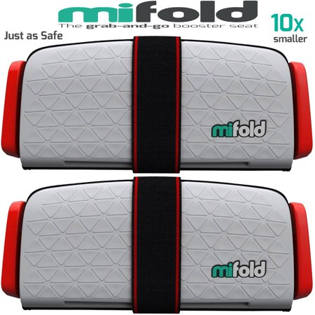Mifold 2-Pack MF01-US/COM Grab-and-Go Car Booster Seat (Pearl