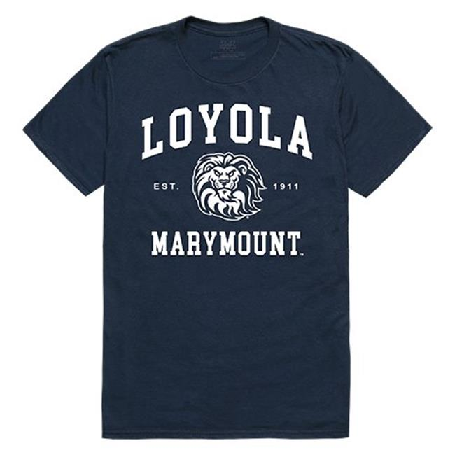 W Republic Apparel 526-160-NVY-04 Loyola Marymount University Seal Tee, Navy - Extra Large - image 1 of 1