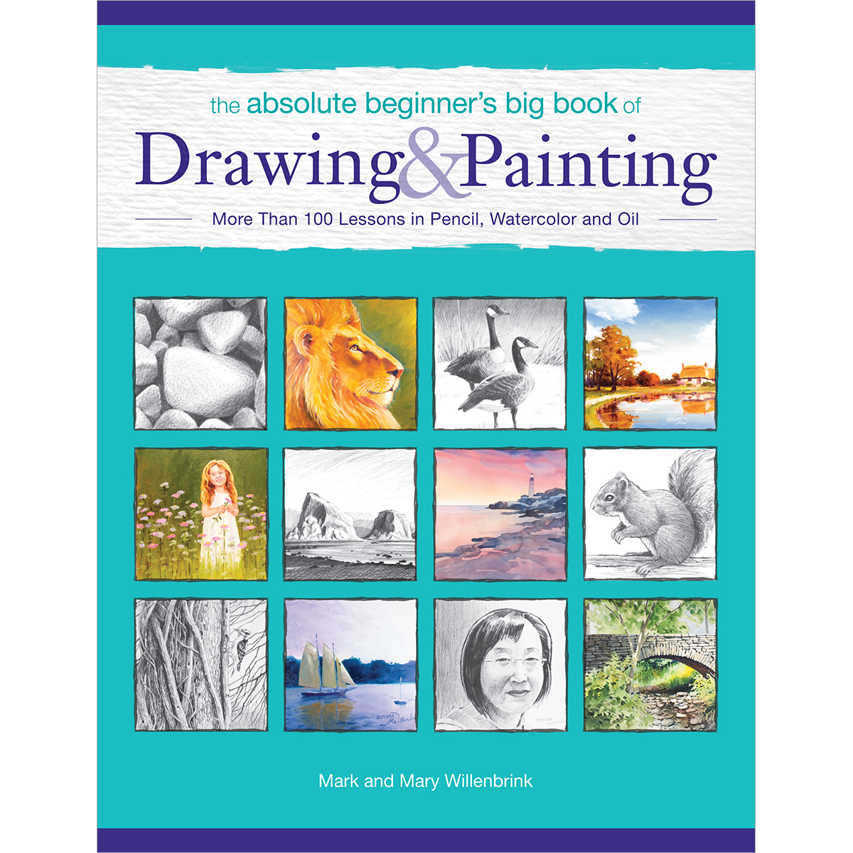 North Light Books-Big Book Of Drawing & Painting