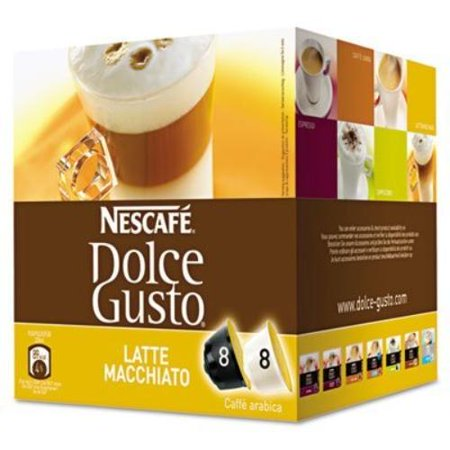 Nescafe Dolce Gusto Latte Macchiato Coffee Pods Pod (Best Nescafe Dolce Gusto Machine)