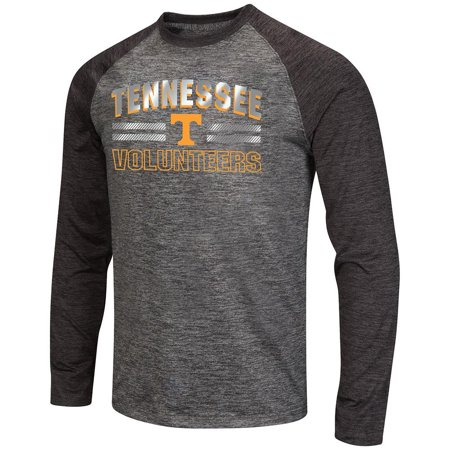(Mens NCAA Tennessee Volunteers Raven Long Sleeve Tee Shirt)