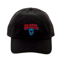 Novelty Character Fashion Accessories Marvel Comics Black Panther Classic Logo Embroidered Dad Hat