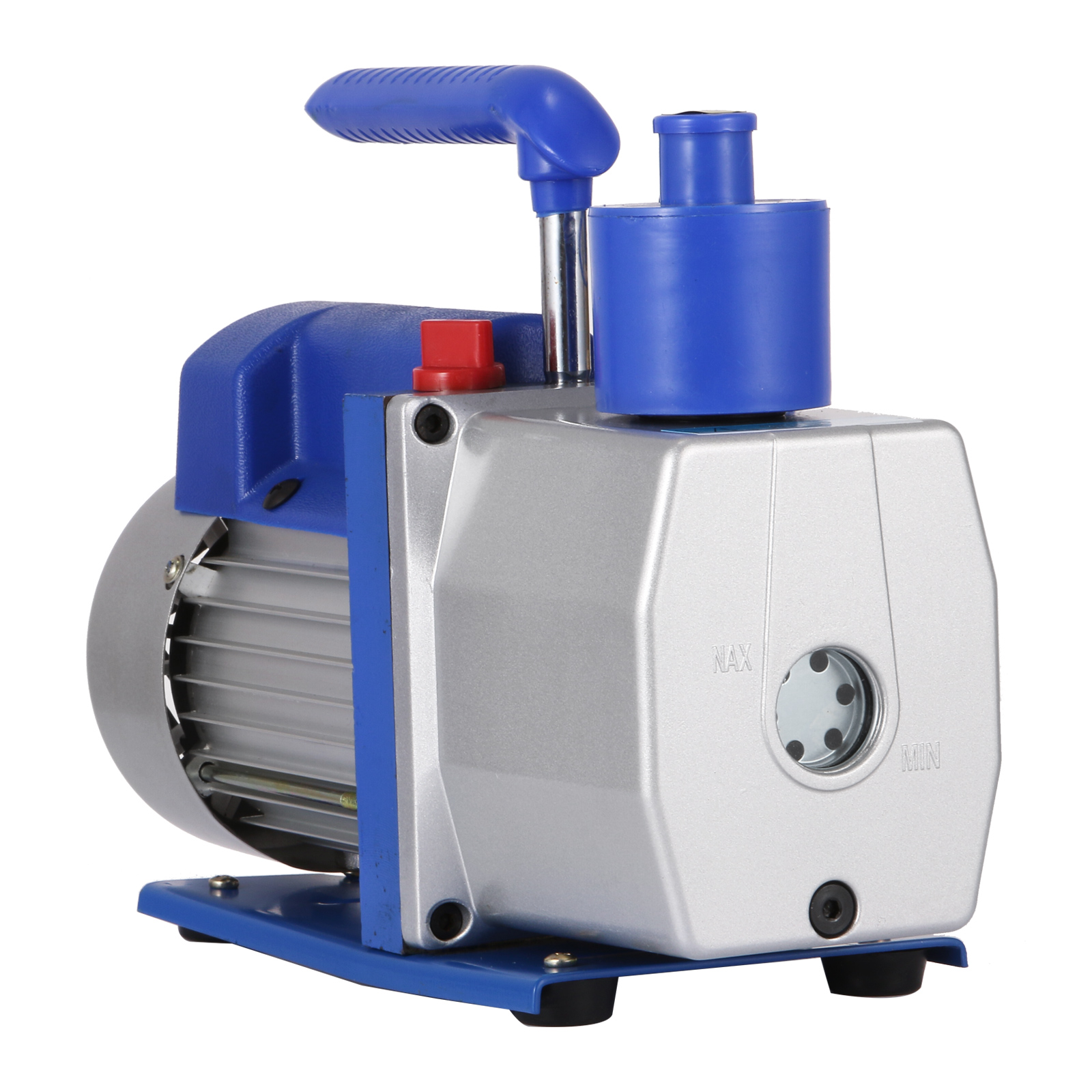 VEVOR Single Stage Vacuum Pump 7CFM 1/2HP Rotary Vane Refrigerant Vacuum Pump AC Deep HVAC Vacuum Pump for Refrigeration and Air Conditioning Systems