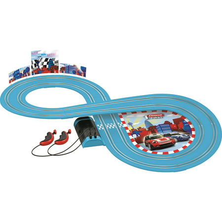 Road Race Clip Ons - Mini Cooper Battery Operated Road Race Set