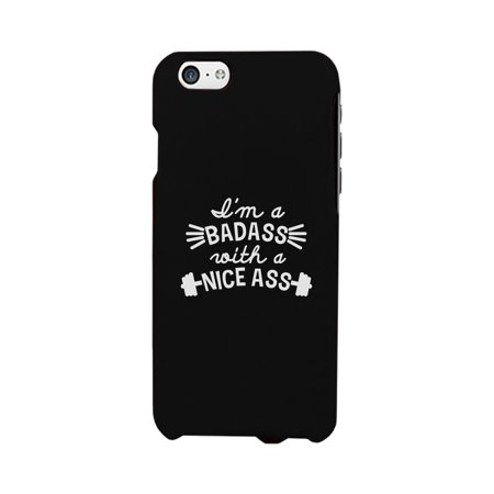 Bad Nice Ass Phone Case Funny Workout Gift Phone Cover For Gym Gift