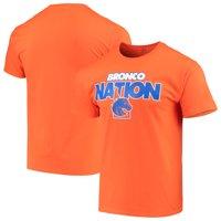 Men's Russell Athletic Orange Boise State Broncos Slogan T-Shirt