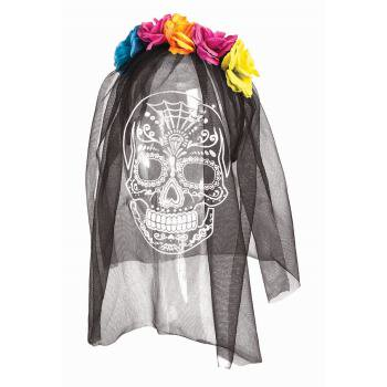 DEAD OF THE DEAD PRINTED VEIL](Pierce The Veil Halloween Merch)