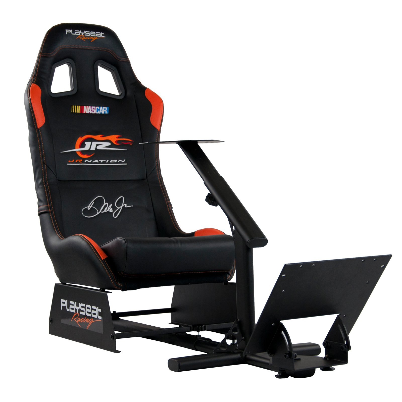 Playseat Evolution NASCAR Jr. Nation Gaming Chair   Black With Black Frame
