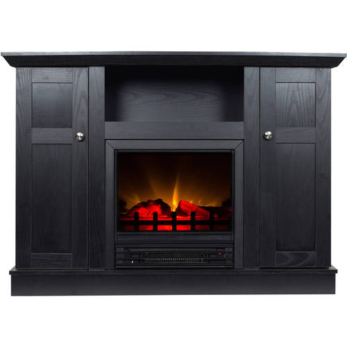 42 Inch Tv Stand With Fireplace Media Console Electric
