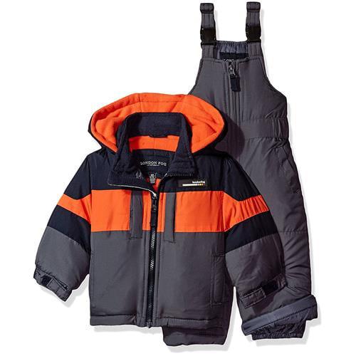London Fog Boys 12-24 Months Snow Bib Jacket Snowsuit (Na...