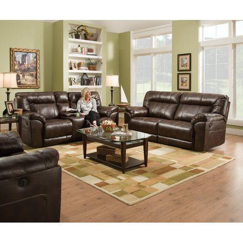 Darby Home Co Simmons Upholstery Colwyn Cuddler Recliner