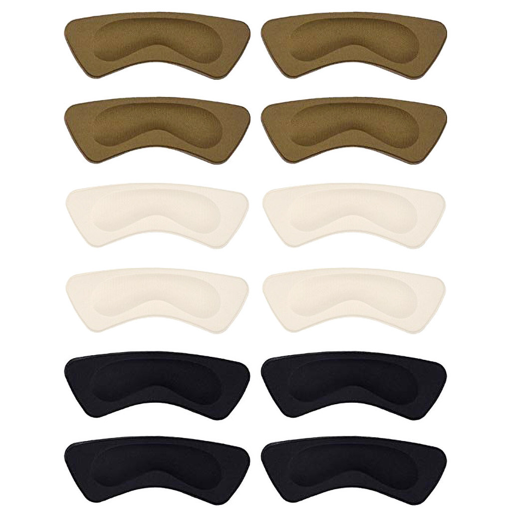 Details about  /5 Pairs Heel Grippers Sponge Shoe Grip Liner Pad Self Adhesive Cushion Soft