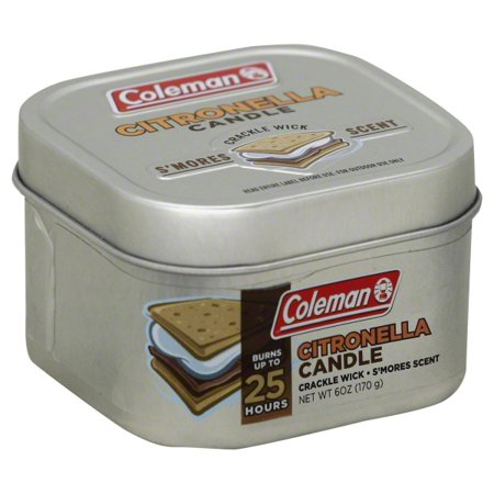 Coleman Repellents Smores Citronella Candle