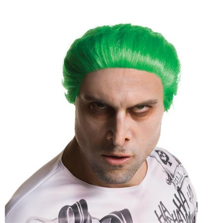 Morris Costumes RU32849 Suicide Squad Joker Wig Costume - Heath Ledger Joker Wig
