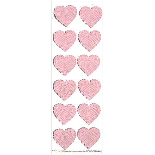 Martha Stewart Valentine Stickers