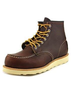 cb0404063 Product Image Red Wing Shoes 6-Inch Moc Toe Lug Men Moc Toe Leather Brown  Boot
