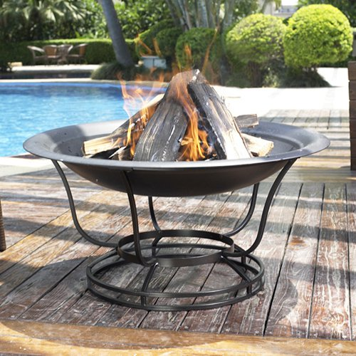 Crosley Outdoor 30 in. Round Firepit by Modern Marketing Concepts Inc