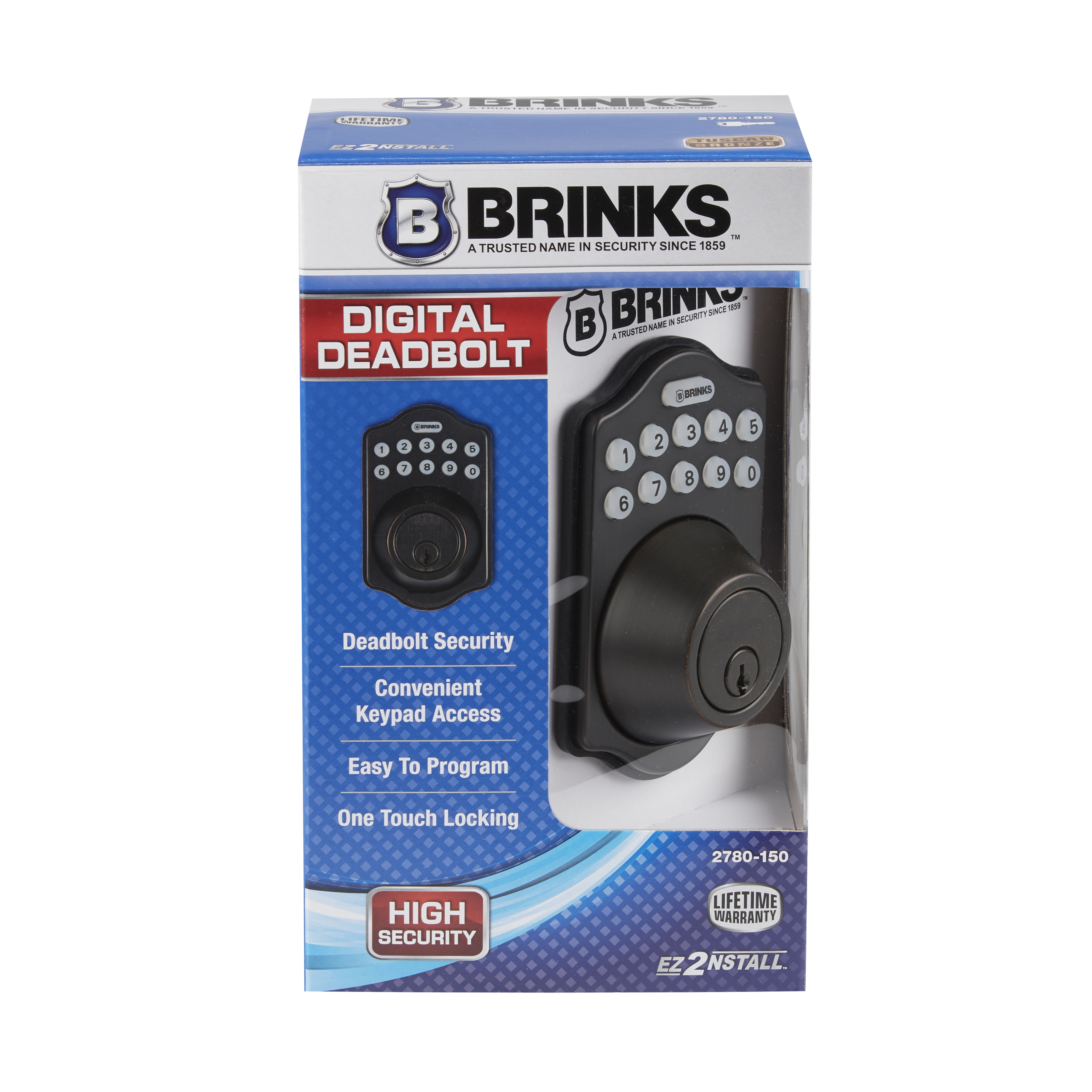 Brinks Digital Deadbolt Tb
