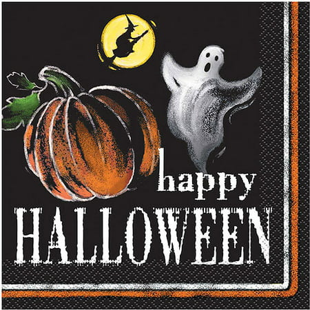 Napkin Nights Halloween 2017 (Ghostly Halloween Luncheon Napkins,)