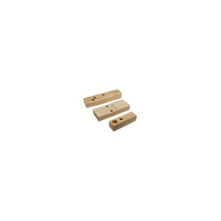 MACs Auto Parts  28-23620 Model A Ford Pickup Body To Frame Wood Mounting Block Set -A & AA Trucks - 6 Pieces - -31 Only